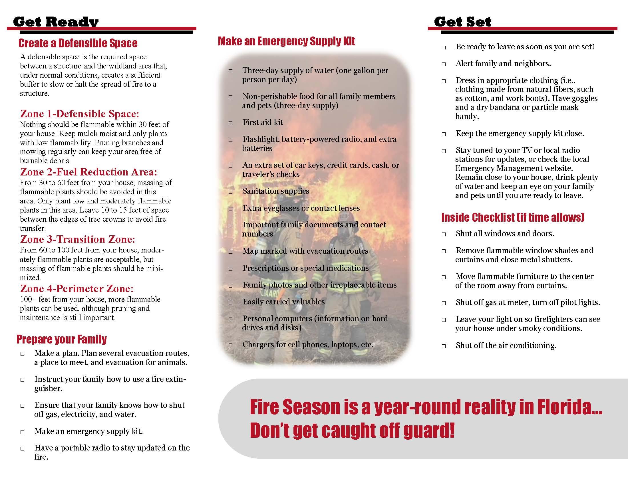 Wildfire Brochure